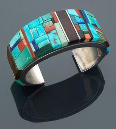 A Hopi bracelet Charles Loloma