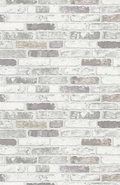 Small Kitchen Remodeling Ontario Neutral Brick Wallpaper - Neutral Brick Wallpaper is a realistic faux brick. Priced by single roll and packaged double.