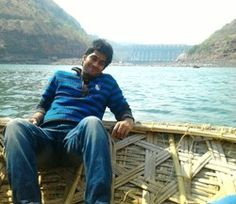 Rajkumar Chowdary - This snap was clicked when I was enjoying a boat ride along with my buddies