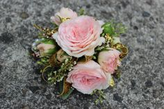 Modern wrist corsages for weddings and special occasions ...
