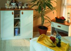 Mókus cherry commode and nightstand / Mókus cseresznye komód és éjjeliszekrény