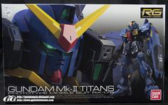RG 1/144 Gundam Mk-II Titan  Unboxing Video from Team GG [PatrickGrade]