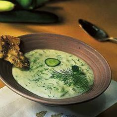 recipe: Chilled Cucumber And Apple Cider Soup