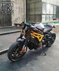 989 Me gusta, 13 comentarios - Nontchart Tanachantseesorn ( e. Motorcycle Design, Bike Design, Custom Motorcycles, Custom Bikes, Ducati Monster 600, Ktm Dirt Bikes, Cb 450, Street Fighter Motorcycle, Triumph Cafe Racer