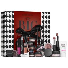 bareMinerals® The BIG TOP™ - A 20-piece color set for face, eyes, and lips in creamy, versatile shades. #Sephora #valueset