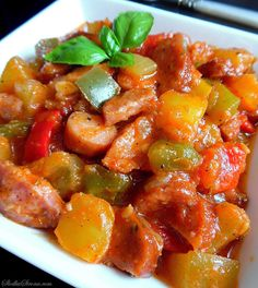 Mexican Food Recipes, Healthy Recipes, Ethnic Recipes, Polish Recipes, Polish Food, Wok, Stew, Food Porn, Curry