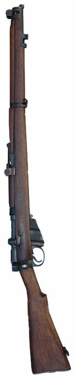 DA10 British WW1 SMLE Rifle British WW1 Short Magazine Lee Enfield Service Rifles. The famous .303 bolt action No1 Mk III military rifle manufactured by various UK Government contractors. 10-shot magazine.