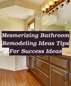 So we know a guest bathroom is good for visiting patrons, presumably our friends and acquaintances, we also understand that our master bathroom is our... Large Bathrooms, Master Bathrooms, Small Bathroom, Tile Tub Surround, Bathroom Blinds, Fireplace Surrounds, Decorating Tips, Countertops, Kitchen Cabinets