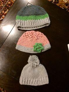 Three little hats!