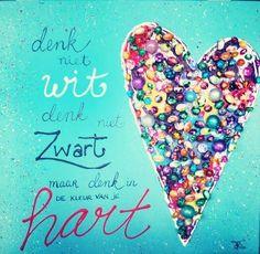 Kleur van je hart