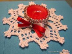 Milù, di tutto e di più!: Porta candele o sottobicchieri all'uncinetto