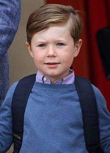 Prince Christian of Denmark, Count of Monpezat.eldest child of Crown Prince Frederik & Crown Princess Mary.