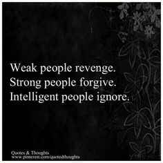 Always choose to ignore! Mind your own business, life is SOOO much easier that way! :)