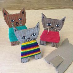 craft ideas with yarn \ craft yarn ideas . craft ideas with yarn . yarn craft ideas for kids . craft ideas with yarn easy diy . craft ideas using yarn Projects For Kids, Kids Crafts, Arts And Crafts, Paper Crafts, Kids Diy, Decor Crafts, Summer Art Projects, Crafts Cheap, Preschool Crafts