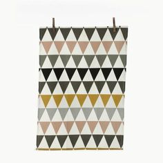 Triangle Tea Towel - Multi by ferm living