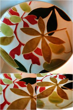 a new painted plate, you design.