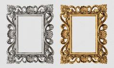 PNG Picture frame by LiliGraphie on Creative Market