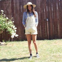 .@Penny Douglas People | Festival fashion at BottleRock Napa! We love these yellow overalls! #bottlerocknapa