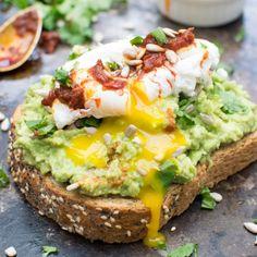 Smashed Avocado Toast + Egg