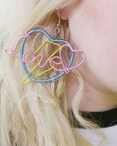 Thunder Love Earrings #cartonmagazine
