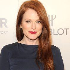 Makeup tips for women of 40 Julianne Moore  Blog post #howto #beautyblogger #makeupartist #promakeupartist