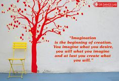 #Quoteoftheday. #Imagination Quote Of The Day, Imagination, Lab, Create, Home Decor, Decoration Home, Room Decor, Fantasy, Labs