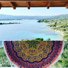 Round_towel_lotus! 🌞 ✔Shop it 👉www.sunandsand.gr ✔worldwide 🌎shipping ✔Δωρεάν μεταφορικά 🚚εντός Ελλάδος!  #sunandsandgr #roundtowels #lotus #bohemian #beachsuplies #beachstyle #infashion #shoponline