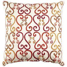 Sunset scroll pillow pier1 us