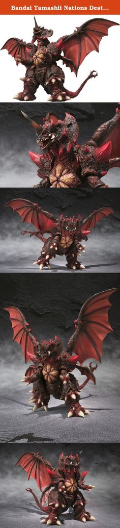 """Bandai Tamashii Nations Destroyah (Complete Version) """"Godzilla vs Destroyah"""" - S.H. MonsterArts. Godzilla's foe from the 1995 film """"Godzilla vs Destroyah"""" joins the S.H.MonsterArts series in awesomely terrifying style. Depicted in S.H.MonsterArts meticulous detail and featuring superior articulation, the S.H.MonsterArts Destroyah deluxe action figure captures the imposing appearance and massive form of what is considered by many fans to be Godzilla's ultimate foe."""