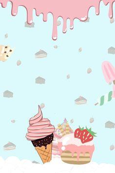 Cake Wallpaper, Flower Background Wallpaper, Cartoon Wallpaper, Diy Eid Gifts, Ice Cream Cartoon, Diorama Kids, Scrapbook Recipe Book, Christmas Themed Cake, Cake Logo Design