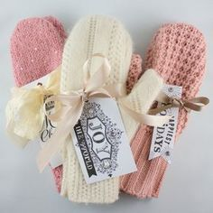 Simple tutorial to make adorable mittens out of old sweaters - such a great idea!