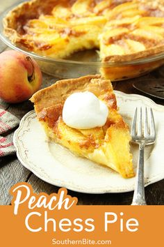 Lower Excess Fat Rooster Recipes That Basically Prime This Peach Chess Pie Combines All The Flavor Of Delicious Peach Cobbler In A Decadent Custard Pie Tart Recipes, Fruit Recipes, Sweet Recipes, Dessert Recipes, Cooking Recipes, Aloo Recipes, Milk Recipes, Egg Recipes, Recipes Dinner