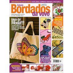 Revista Bordados da Vovó Ed. Minuano nº07
