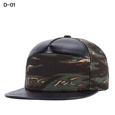 Camouflage Bone Snapback Ladies Gorras Hiphop Baseball Cap Summer Casual Como Casquette Flat Hat For Women Men 2017 Brand Caps