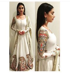 Aditi Rao Hydari in rimple and harpreet narula Indian Attire, Indian Ethnic Wear, Pakistani Outfits, Indian Outfits, Indian Clothes, India Fashion, Asian Fashion, Women's Fashion, Rimple And Harpreet Narula