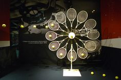 Tennis at Galeries Lafayette