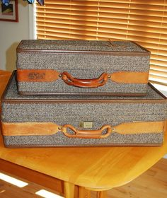3 Piece Vintage Hartmann Luggage Set | Chang'e 3, Vintage and Etsy
