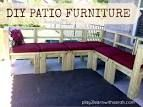 Creating outdoor furniture