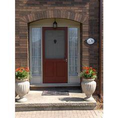 Screen Door Between House And Garage Provides Energy