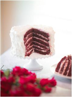 I have never tried Red Velvet Cake before. It looks yummy. I will have to give it a try one of these days : )  . sinclair & moore .