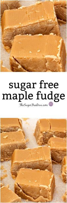 is a delicious recipe for Sugar Free Maple Fudge! via is a delicious recipe for Sugar Free Maple Fudge! Sugar Free Fudge, Sugar Free Deserts, Sugar Free Baking, Sugar Free Sweets, Sugar Free Candy, Sugar Free Recipes, Sugar Free Toffee Recipe, Fudge Recipes, Candy Recipes