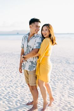 Beach wedding prenup shoot at Boracay Island with Sweet Escape