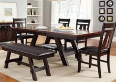 116CD6RTS in by Liberty Furniture Industries in Elizabethton, TN - 6 Piece Rectangular Table Set