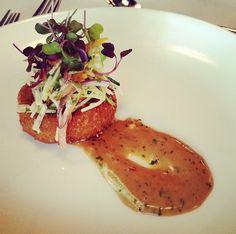 Crab Cake Appetizer @ La Concha Resort in Puerto Rico!