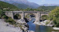 Pont génois commune d'Altiani Corse