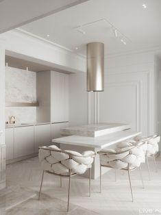 Luxury Kitchen Design, Kitchen Room Design, Home Room Design, Dream Home Design, Home Decor Kitchen, Interior Design Living Room, Living Room Designs, House Design, Kitchen Ideas