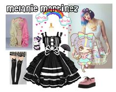 """""""melanie martinez"""" by meowerz1157 ❤ liked on Polyvore featuring Samsung and Wet Seal"""