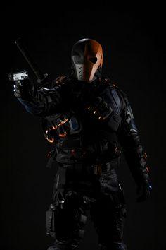 Deathstroke as Manu Bennett Arrow Deathstroke Cosplay, Deathstroke Arrow, Deathstroke The Terminator, Deathstroke Halloween, Arrow Slade, Arrow Cw, Team Arrow, Joe Manganiello, Teen Titans