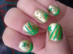 St. Patty's Day nail art