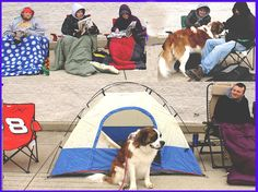 Black Friday, camping out in line
